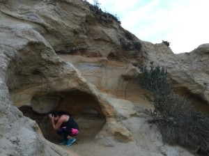 Trail running (and cave hibernation) at Torrey Pines National Park
