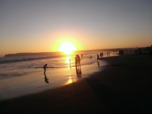 Sunset at Coronado Beach