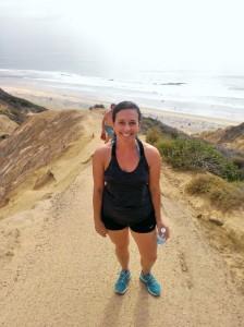 Hiking at Blacks Beach, San Diego, CA
